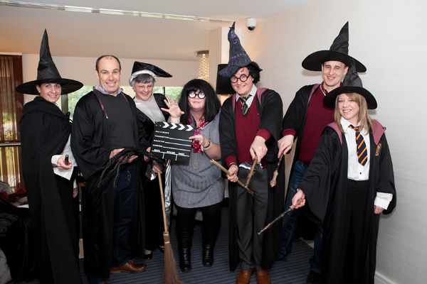 Delegates in Harry Potter custome