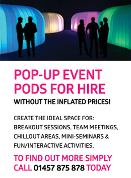Pop-up Event Pods for hire!